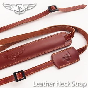 TP Original ティーピー オリジナル Leather Camera Neck Strap 本革カメラネックストラップ TP-1001 Oil Brown(オイル ブラウン)|nineselect
