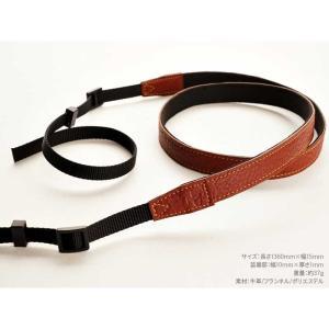 TP Original ティーピー オリジナル Leather Camera Neck Strap 本革カメラネックストラップ TP-15 Brown(ブラウン) TS15BR|nineselect|03