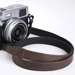 TP Original ティーピー オリジナル Leather Camera Neck Strap 本革カメラネックストラップ TP-15 Dark Brown(ダークブラウン) TS15DB|nineselect