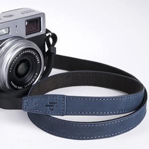 TP Original ティーピー オリジナル Leather Camera Neck Strap 本革カメラネックストラップ TP-15 Navy(ネイビー) TS15NV|nineselect