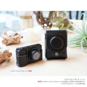 TP Original Leather Camera Case for RICOH GR III  2colors リコー GR3 本革 レザー カメラケース カバー ポーチ TC03 nineselect 02