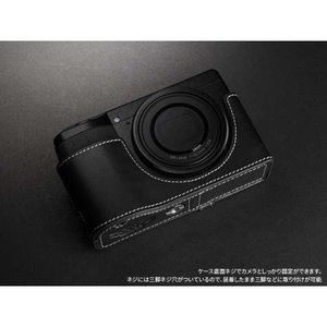 TP Original Leather Camera Body Case for RICOH GR III  Oil Black リコー GR3 本革 レザー カメラケース EZ Series TB04GR3-BK|nineselect|04