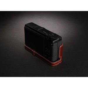 TP Original Leather Camera Body Case for RICOH GR III  Oil Brown リコー GR3 本革 レザー カメラケース EZ Series TB04GR3-BR nineselect 03