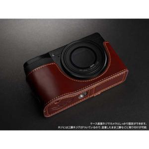 TP Original Leather Camera Body Case for RICOH GR III  Oil Brown リコー GR3 本革 レザー カメラケース EZ Series TB04GR3-BR nineselect 04