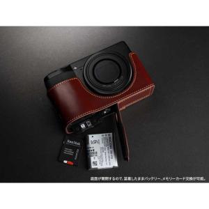 TP Original Leather Camera Body Case for RICOH GR III  Oil Brown リコー GR3 本革 レザー カメラケース EZ Series TB04GR3-BR nineselect 05