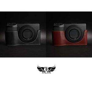 TP Original Leather Camera Body Case for RICOH GR III  Oil Brown リコー GR3 本革 レザー カメラケース EZ Series TB04GR3-BR nineselect 07