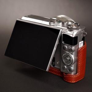 TP Original ティーピー オリジナル Leather Camera Body Case レザーケース for Nikon 1 J5 おしゃれ 本革 カメラケース Black(ブラック)|nineselect|04