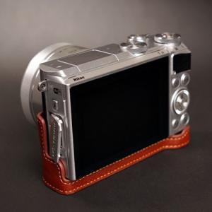 TP Original ティーピー オリジナル Leather Camera Body Case レザーケース for Nikon 1 J5 おしゃれ 本革 カメラケース Black(ブラック)|nineselect|05