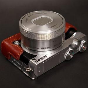 TP Original ティーピー オリジナル Leather Camera Body Case レザーケース for Nikon 1 J5 おしゃれ 本革 カメラケース Black(ブラック)|nineselect|06