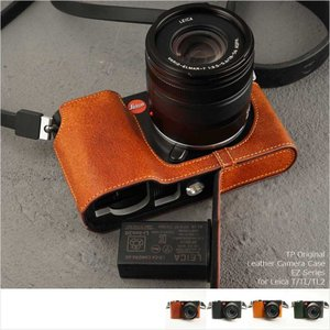 TP Original Leather Camera Body Case for Leica T/TL/TL2 4colors おしゃれ 本革 カメラケース ライカ|nineselect
