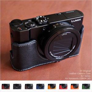 TP Original Leather Camera Body Case for Panasonic LUMIX LX9 DMC-LX9 おしゃれ 本革 カメラケース 8colors|nineselect