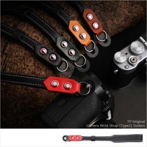 TP Original ティーピー オリジナル Camera Wrist Strap Type2 丸リング タイプ カメラリストストラップ 5colors|nineselect