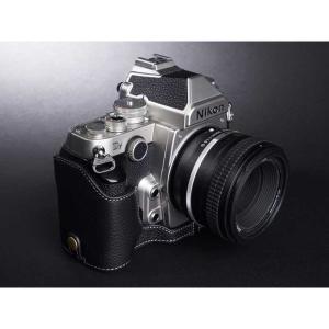 TP Original Nikon Df 専用 レザー カメラケース Black ブラック おしゃれ 速写ケース TB06DF-BK|nineselect|02