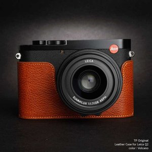 TP Original Leather Camera Body Case for Leica Q2 Volcano ライカ 本革 レザー カメラケース EZ Series|nineselect