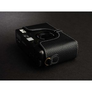 TP Original Leather Camera Body Case for CONTAX T3 Black コンタックス 本革 レザー カメラケース Classic Series TB05T3-BK|nineselect|03