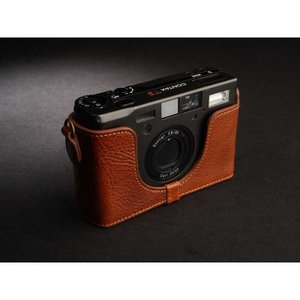 TP Original Leather Camera Body Case for CONTAX T3 Volcano コンタックス 本革 レザー カメラケース Classic Series TB05T3-LB nineselect 02
