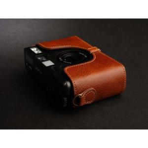 TP Original Leather Camera Body Case for CONTAX T3 Volcano コンタックス 本革 レザー カメラケース Classic Series TB05T3-LB nineselect 03