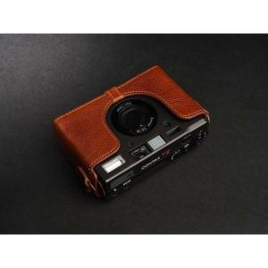 TP Original Leather Camera Body Case for CONTAX T3 Volcano コンタックス 本革 レザー カメラケース Classic Series TB05T3-LB nineselect 04