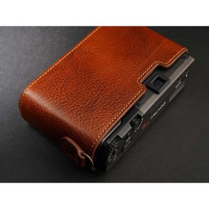 TP Original Leather Camera Body Case for CONTAX T3 Volcano コンタックス 本革 レザー カメラケース Classic Series TB05T3-LB nineselect 05