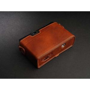 TP Original Leather Camera Body Case for CONTAX T3 Volcano コンタックス 本革 レザー カメラケース Classic Series TB05T3-LB nineselect 06