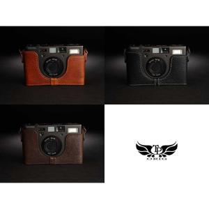 TP Original Leather Camera Body Case for CONTAX T3 Volcano コンタックス 本革 レザー カメラケース Classic Series TB05T3-LB nineselect 08