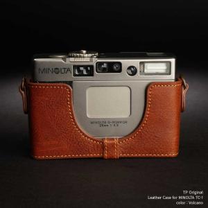 TP Original Leather Camera Body Case for MINOLTA TC-1 Volcano ミノルタ 本革 レザー カメラケース Classic Series TB05TC1-LB nineselect