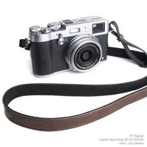 TP Original Leather Camera Neck Strap 本革 カメラストラップ ネックストラップ TP-15 Coco Brown ココ ブラウン TS15CO レザー ストラップ おしゃれ シンプル|nineselect