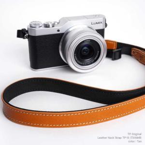TP Original Leather Camera Neck Strap 本革 カメラストラップ ネックストラップ TP-15 Tan タン TS16WB レザー ストラップ おしゃれ シンプル|nineselect