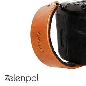 zelenpol ゼレンポル DSLR HAND STRAP CAMEL BROWN おしゃれ 本革ハンドストラップ カメラグリップ CAMEL BROWN キャメル ブラウン nineselect