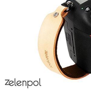 zelenpol ゼレンポル DSLR HAND STRAP DARK BROWN  おしゃれ 本革ハンドストラップ カメラグリップ DARK BROWN  ダーク ブラウン nineselect