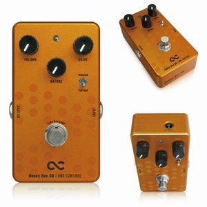 One Control BJFe Series Honey Bee ODは、現在のアンプライクペダル...