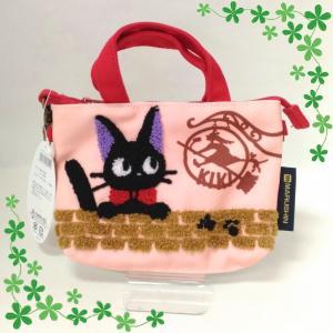 魔女の宅急便 ミニポシェットバッグ 「ジジと看板」 【メール便】 ningyo-katayama