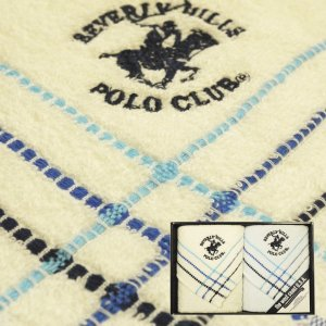 POLO CLUB ポロクラブ ウエストコート フェイスタオル 2枚セット 【ギフト包装無料】|ningyo-katayama