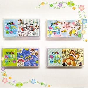 Disney  PEANUTS トリプルねりけし 4個セット クラックス 【包装可】【メール便】|ningyo-katayama
