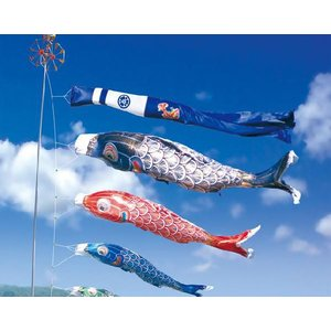 こいのぼり 鯉のぼり 太陽7m6点セット(家紋入れ可能・ポール別売り)【名入れか家紋入れ無料】|ningyohonpo