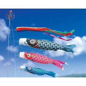 鯉のぼり こいのぼり 友禅鯉3m6点セット(ポール別売り)|ningyohonpo