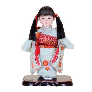 市松人形 日本のおみやげ お土産 日本人形 8号|ningyohonpo