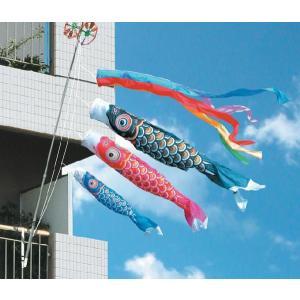 こいのぼり 鯉のぼり ゴールド鯉1.5mベランダ用ファミリーセット|ningyohonpo