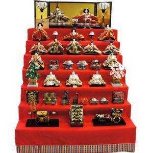 【送料無料】雛人形 ひな人形 八番親王三五十五人もうせん七段飾り ningyohonpo