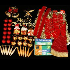 クリスマスツリー 北欧 飾り オーナメント セット 飾り|ningyohonpo