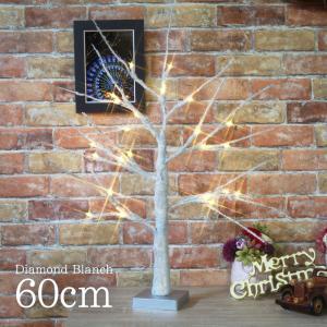 【数量限定特価】クリスマスツリー 北欧 おしゃれ ダイヤモンドブランチツリー60cm 【hk】|ningyohonpo
