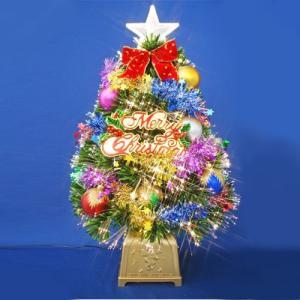クリスマスツリー 北欧 60cmグリーンファイバーツリーセット12 飾り|ningyohonpo