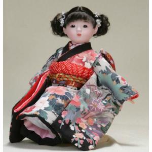 日本のおみやげ お土産 市松人形 日本人形 13号瞳|ningyohonpo