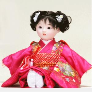日本のおみやげ お土産 市松人形 日本人形 8号SC|ningyohonpo