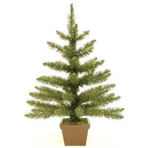 クリスマスツリー 北欧 ウッドベースツリー60cm【木製ポットツリー】 飾り|ningyohonpo