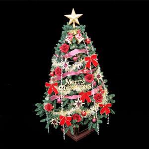 クリスマスツリー 北欧 ウッドベースツリーセット120cm【木製ポットツリー】 飾り|ningyohonpo