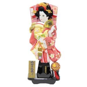 羽子板 台飾り さがの絞り桜(TO1906) 15号 高さ5...