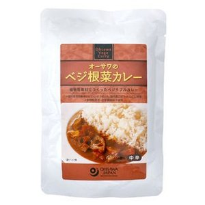 オーサワのベジ根菜カレー|ninjin