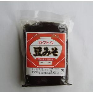カクトウの豆みそ500g×2袋 カクトウ醸造|ninjin
