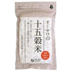 雑穀米!オーサワの十五穀米  300g ninjin